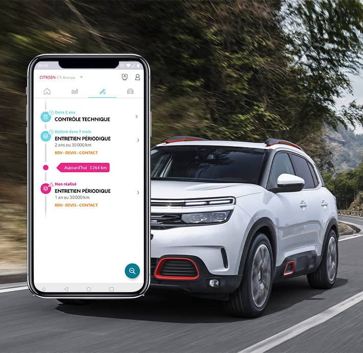 Application mobile My Citroën